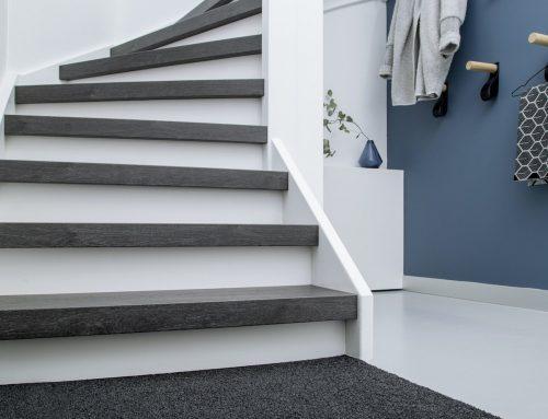Je traptreden vervangen
