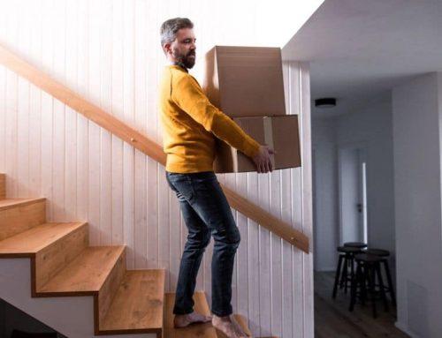 Bescherm de trap bij een verhuizing