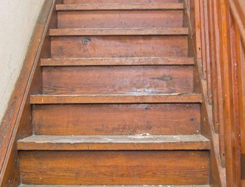 Een betonnen trap renoveren