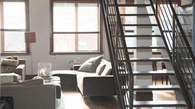 een open trap