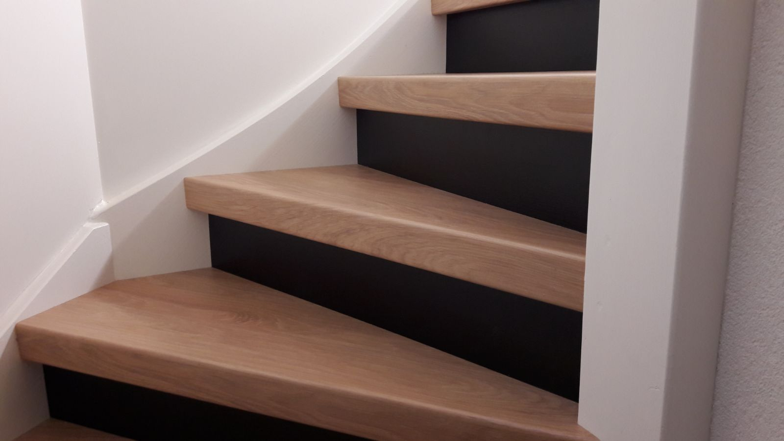 de trap in nieuwbouw