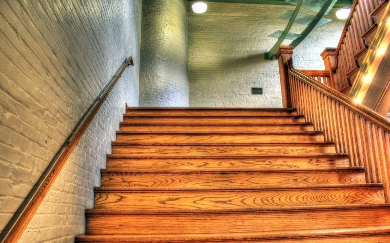 eiken trap onderhouden