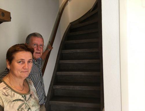 Review: de traprenovatie en aanleg van de vloer van de familie van Diest uit Sint-Oedenrode