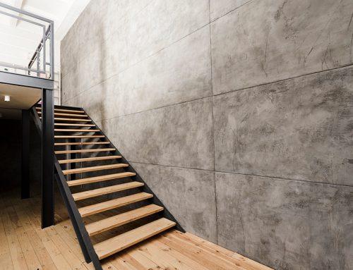 Je muur afstemmen op je trap