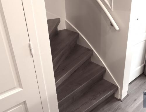 De trap zandstralen: een slim idee?