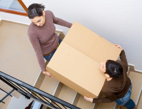 Verhuizen? Zo let je op je trap