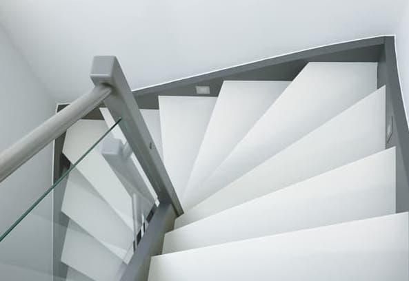 onderhoud witte trap