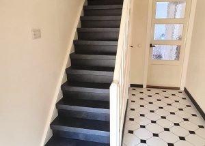trap gerenoveerd in Cuijk